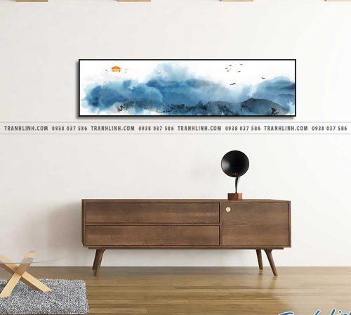 Bo tranh Canvas treo tuong trang tri phong khach phong canh PC0164