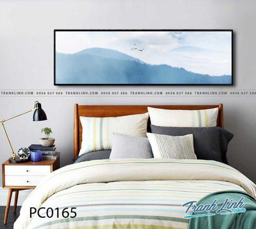 Bo tranh Canvas treo tuong trang tri phong khach phong canh PC0165