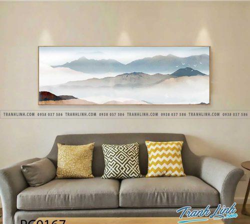 Bo tranh Canvas treo tuong trang tri phong khach phong canh PC0167