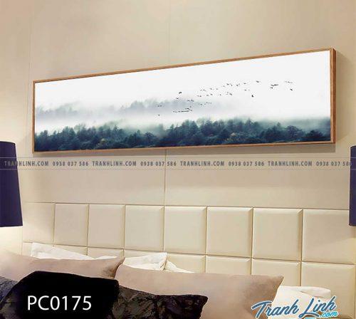 Bo tranh Canvas treo tuong trang tri phong khach phong canh PC0175