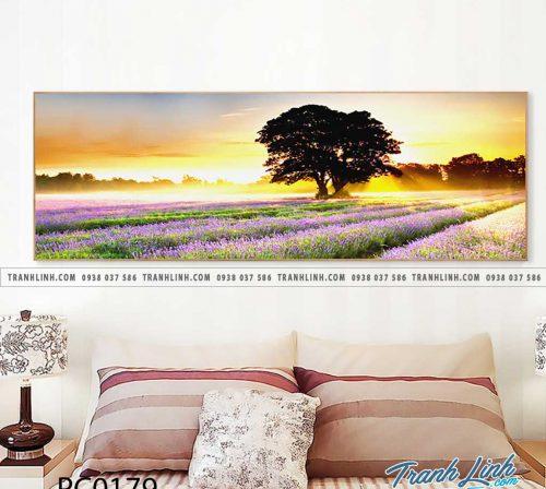 Bo tranh Canvas treo tuong trang tri phong khach phong canh PC0179