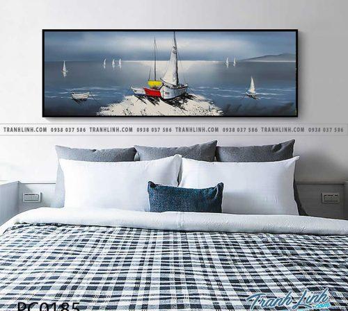 Bo tranh Canvas treo tuong trang tri phong khach phong canh PC0185 1