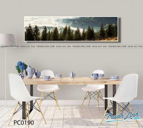Bo tranh Canvas treo tuong trang tri phong khach phong canh PC0190