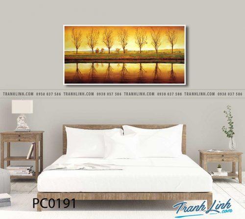 Bo tranh Canvas treo tuong trang tri phong khach phong canh PC0191