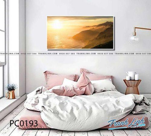 Bo tranh Canvas treo tuong trang tri phong khach phong canh PC0193