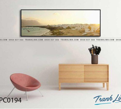Bo tranh Canvas treo tuong trang tri phong khach phong canh PC0194