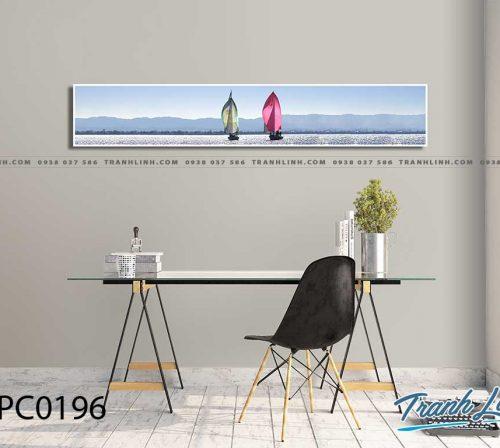 Bo tranh Canvas treo tuong trang tri phong khach phong canh PC0196