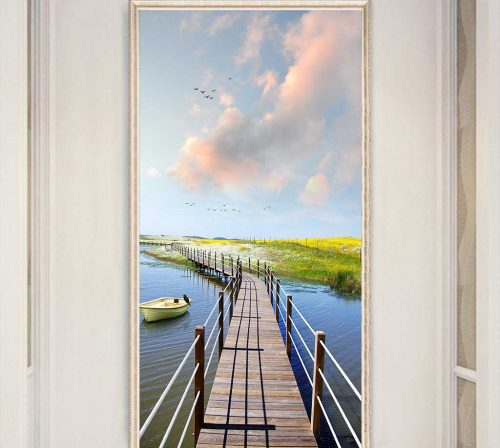 Bo tranh Canvas treo tuong trang tri phong khach phong canh PC0253