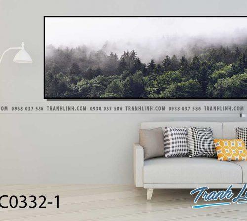 Bo tranh Canvas treo tuong trang tri phong khach phong canh PC0332 1