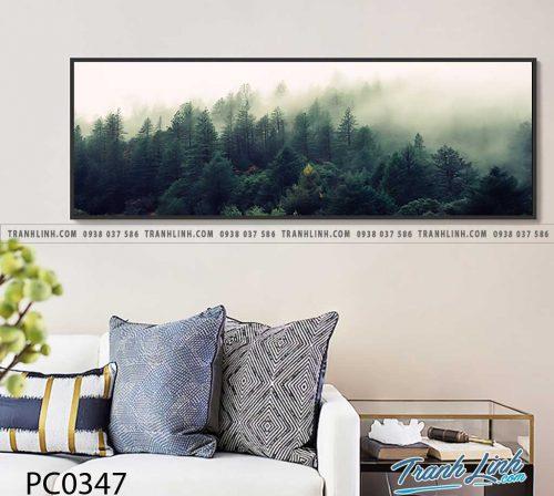 Bo tranh Canvas treo tuong trang tri phong khach phong canh PC0347