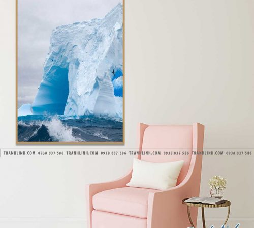 Bo tranh Canvas treo tuong trang tri phong khach phong canh PC0453