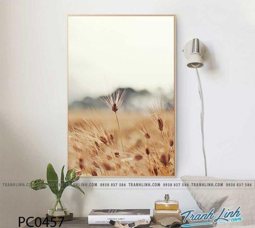 Bo tranh Canvas treo tuong trang tri phong khach phong canh PC0457