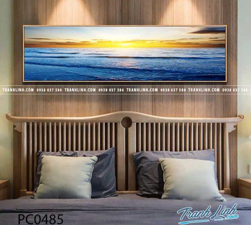 Bo tranh Canvas treo tuong trang tri phong khach phong canh PC0485