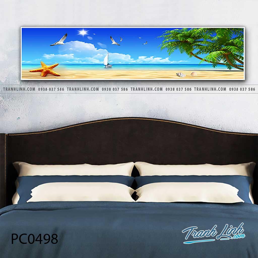 Bo tranh Canvas treo tuong trang tri phong khach phong canh PC0498