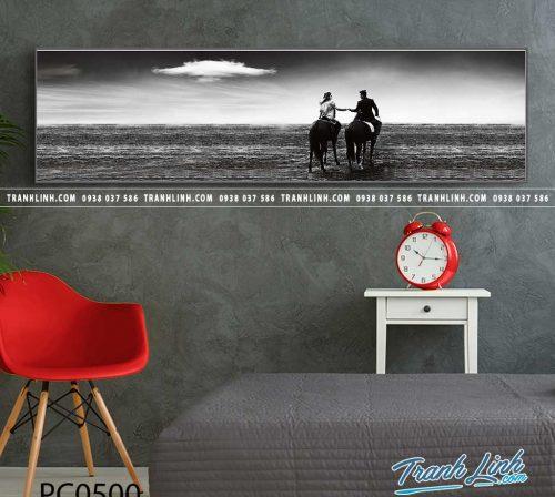 Bo tranh Canvas treo tuong trang tri phong khach phong canh PC0500