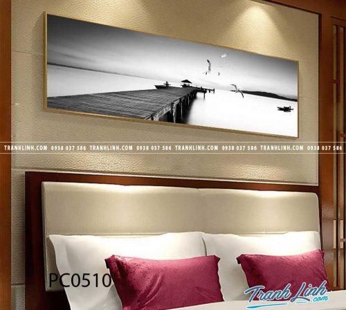 Bo tranh Canvas treo tuong trang tri phong khach phong canh PC0510