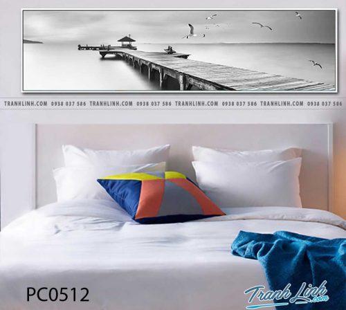 Bo tranh Canvas treo tuong trang tri phong khach phong canh PC0512