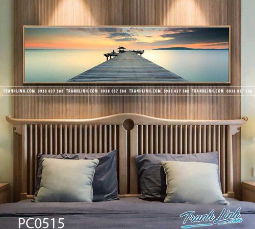 Bo tranh Canvas treo tuong trang tri phong khach phong canh PC0515