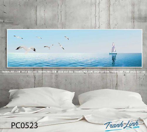 Bo tranh Canvas treo tuong trang tri phong khach phong canh PC0523