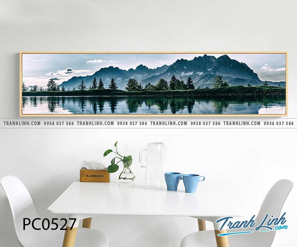 Bo tranh Canvas treo tuong trang tri phong khach phong canh PC0527