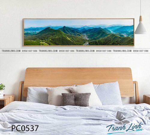 Bo tranh Canvas treo tuong trang tri phong khach phong canh PC0537