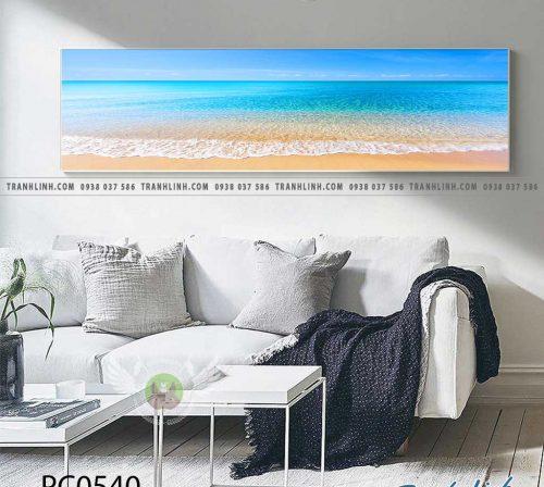 Bo tranh Canvas treo tuong trang tri phong khach phong canh PC0540