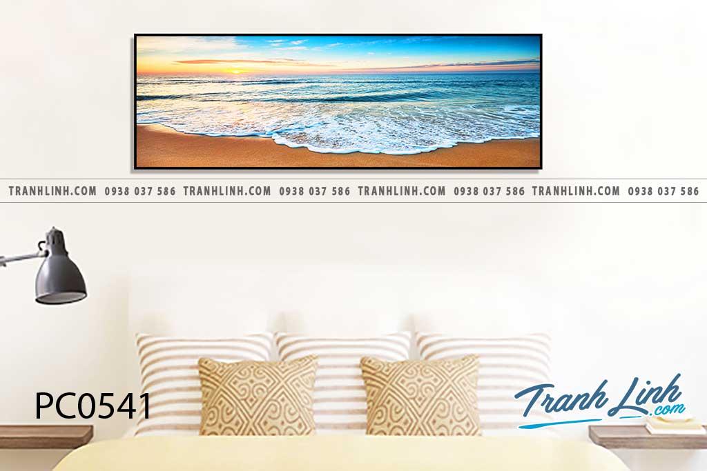 Bo tranh Canvas treo tuong trang tri phong khach phong canh PC0541