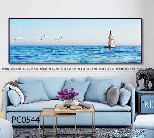 Bo tranh Canvas treo tuong trang tri phong khach phong canh PC0544