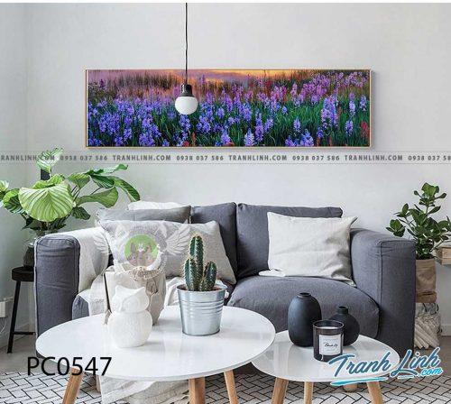 Bo tranh Canvas treo tuong trang tri phong khach phong canh PC0547