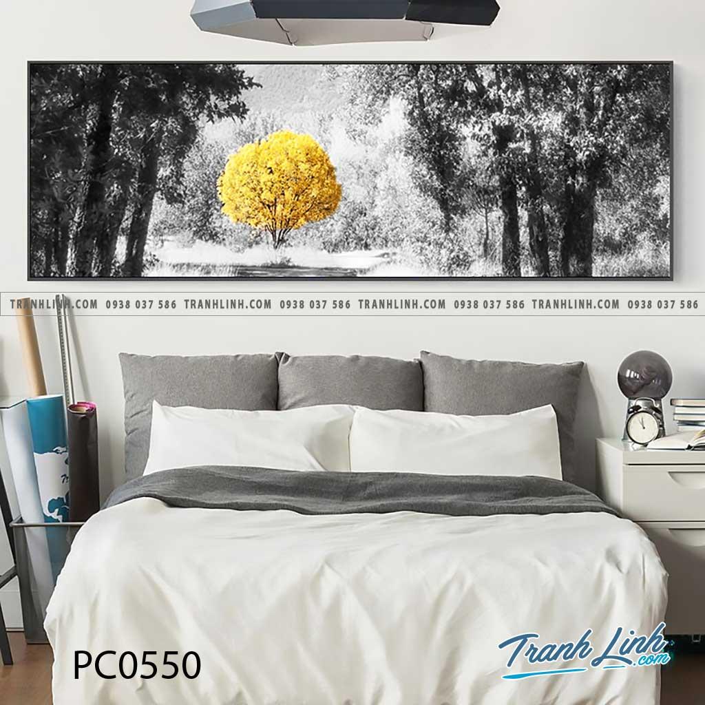 Bo tranh Canvas treo tuong trang tri phong khach phong canh PC0550