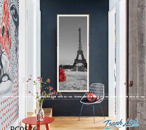 Bo tranh Canvas treo tuong trang tri phong khach phong canh PC0576