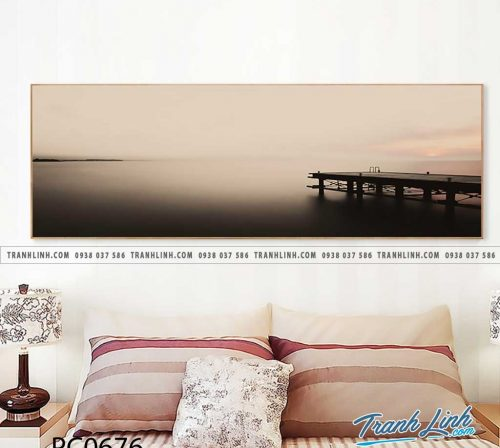 Bo tranh Canvas treo tuong trang tri phong khach phong canh PC0676