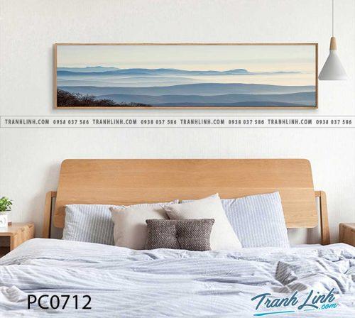 Bo tranh Canvas treo tuong trang tri phong khach phong canh PC0712