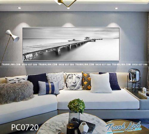 Bo tranh Canvas treo tuong trang tri phong khach phong canh PC0720