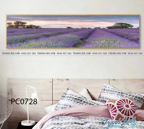 Bo tranh Canvas treo tuong trang tri phong khach phong canh PC0728