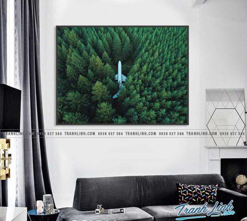 Bo tranh Canvas treo tuong trang tri phong khach phong canh PC0744