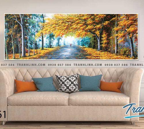 Bo tranh Canvas treo tuong trang tri phong khach phong canh PC0761