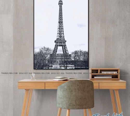 Bo tranh Canvas treo tuong trang tri phong khach phong canh PC0831