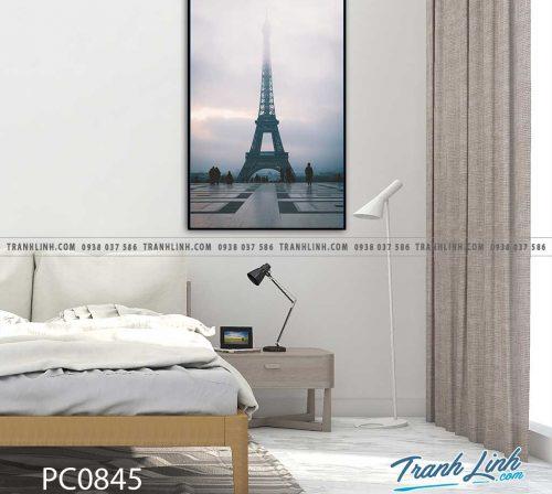 Bo tranh Canvas treo tuong trang tri phong khach phong canh PC0845