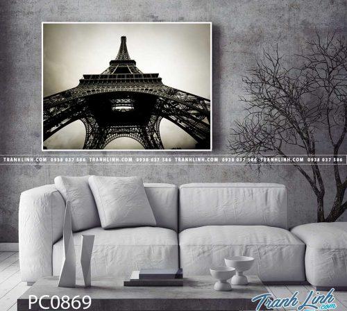 Bo tranh Canvas treo tuong trang tri phong khach phong canh PC0869