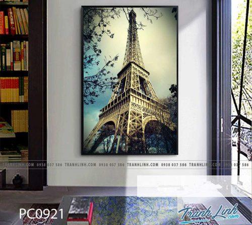 Bo tranh Canvas treo tuong trang tri phong khach phong canh PC0921