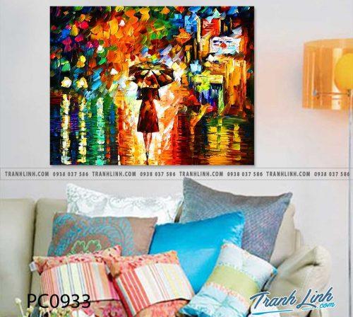 Bo tranh Canvas treo tuong trang tri phong khach phong canh PC0933