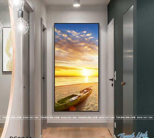 Bo tranh Canvas treo tuong trang tri phong khach phong canh PC0944
