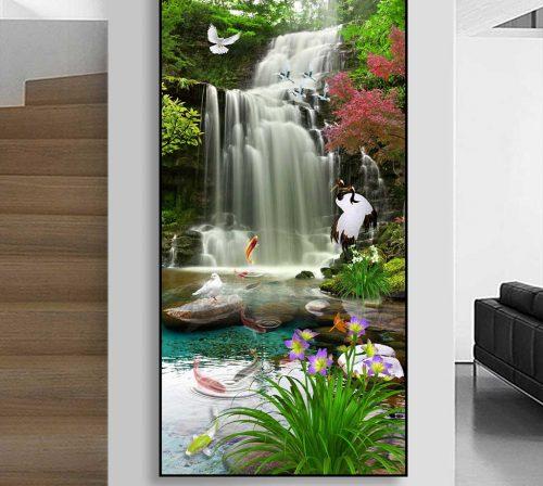 Bo tranh Canvas treo tuong trang tri phong khach phong canh PC0951