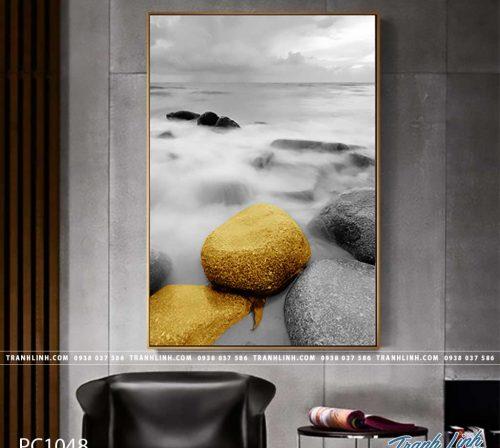 Bo tranh Canvas treo tuong trang tri phong khach phong canh PC1048