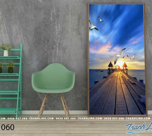 Bo tranh Canvas treo tuong trang tri phong khach phong canh PC1060