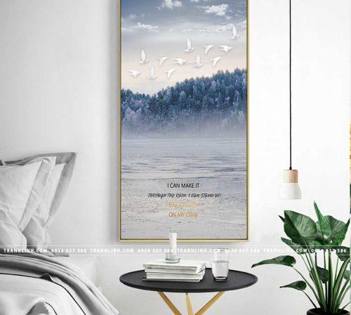 Bo tranh Canvas treo tuong trang tri phong khach phong canh PC1066