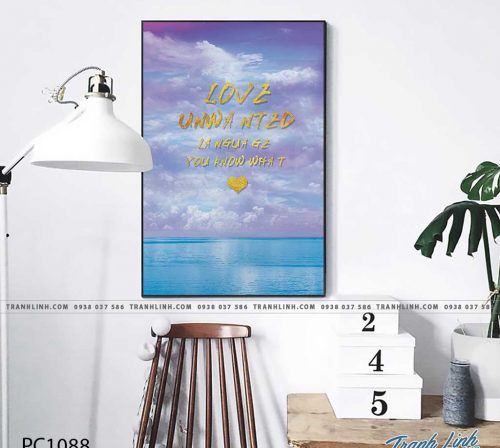 Bo tranh Canvas treo tuong trang tri phong khach phong canh PC1088