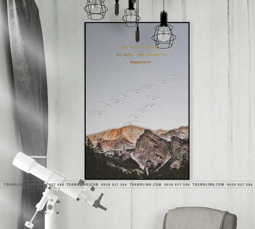 Bo tranh Canvas treo tuong trang tri phong khach phong canh PC1094