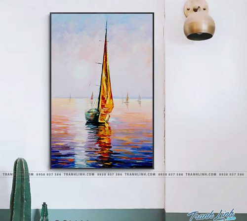Bo tranh Canvas treo tuong trang tri phong khach phong canh PC1100